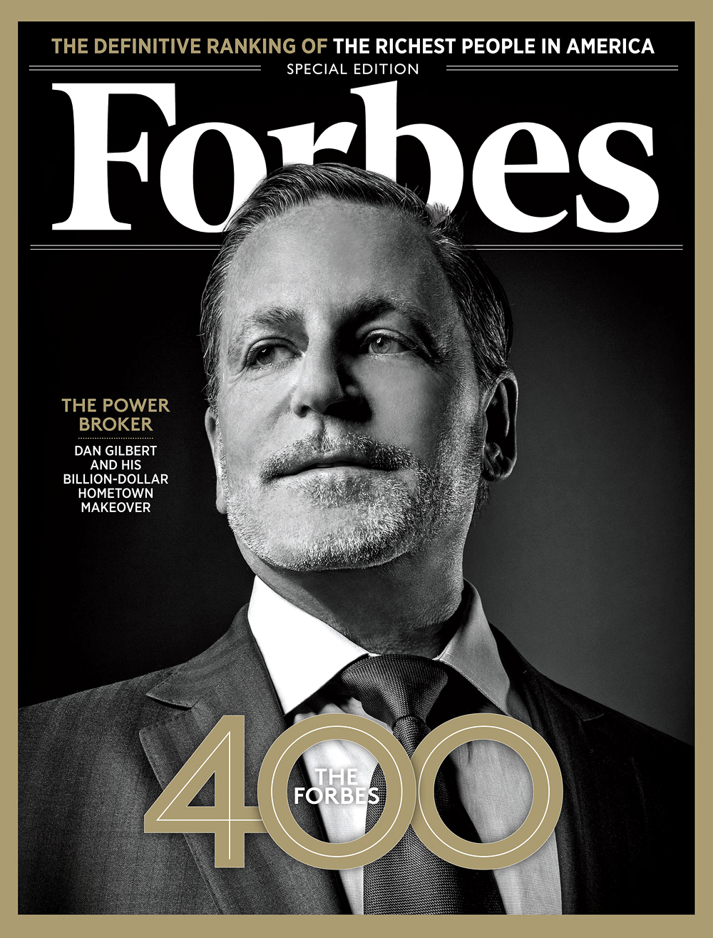 Forbes cover Dan Gilbert,  Andy Goodwin Photography